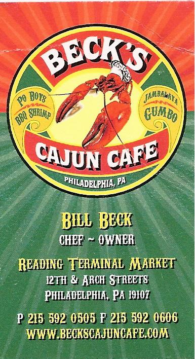 Beck's Cajun Cafe