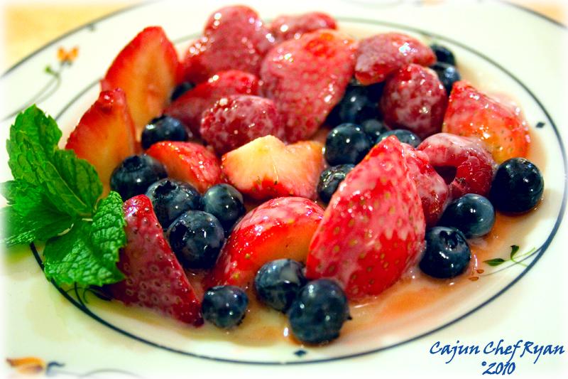 Fresh Berry Crème Anglaise