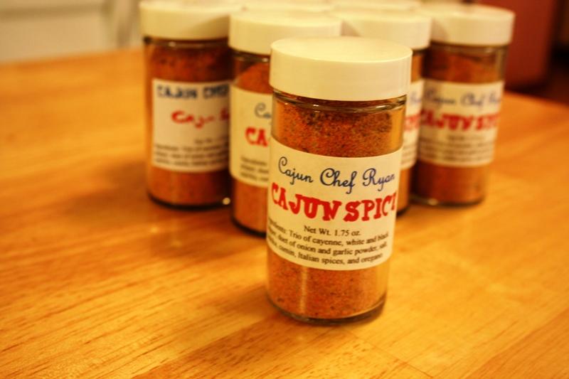 Cajun Chef Ryan's Cajun Spice