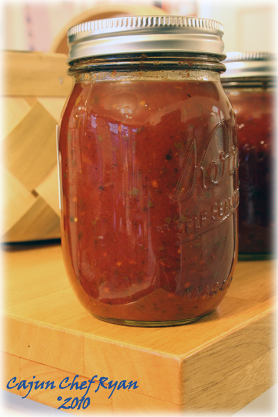 Canned Fire Roasted Tomato Sauce