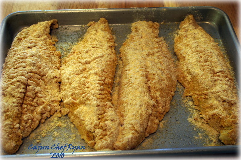 Oven-Fried Catfish Recipe — Dishmaps