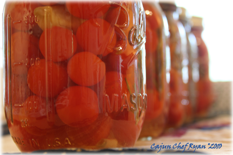 Pickled 'Sweet 100' Grape Tomatoes