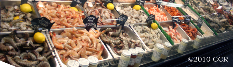 Seafood Market Counter