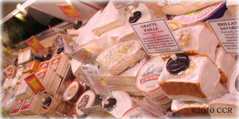 Cheese Shop Counter Selections