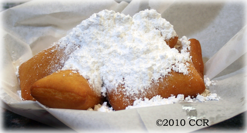 Beignets at Beck's Cajun Cafe