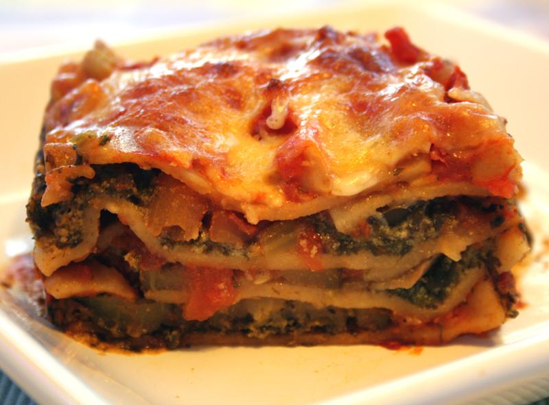 Vegetable Lasagna ~ Cajun Chef Ryan