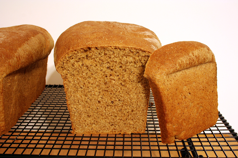 Whole Wheat Bread, sliced