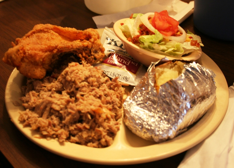 Pork & Chicken Combo